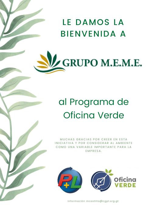 Copia De Primera Empresa En Afiliarse Al Programa De Desempeño Ambiental