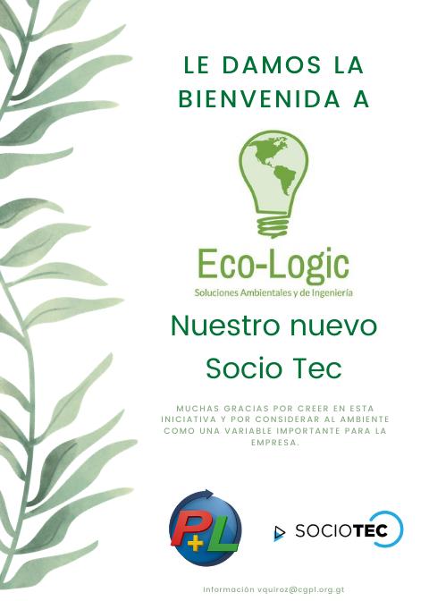 Le Damos La Bienvenida A Nuestro Nuevo Socio Tec, ECO-LOGIC