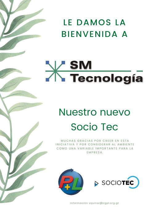 Le Damos La Bienvenida A Nuestro Nuevo Socio Tec, SM Tecnología